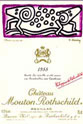 Chateau Mouton Rothschild 1988, Artist: Keinth Haring
