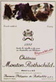 Chateau Mouton Rothschild 1992, Artist:  Per Kirkeby